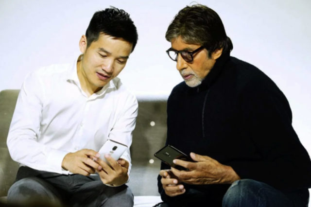 OnePlus 6 Amitabh Bachchan