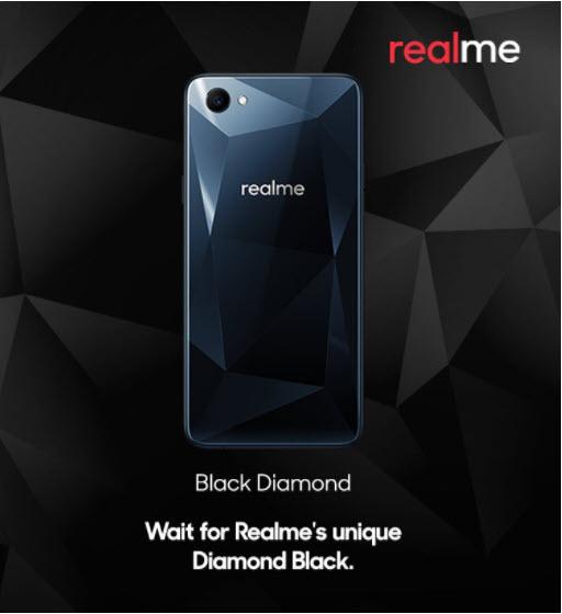 realme black diamond