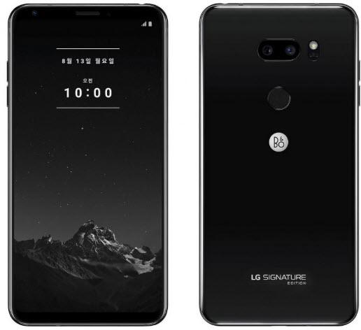 LG V35 ThinQ Signature Edition Black