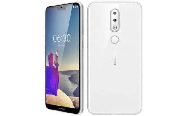 Nokia X6 Polar White