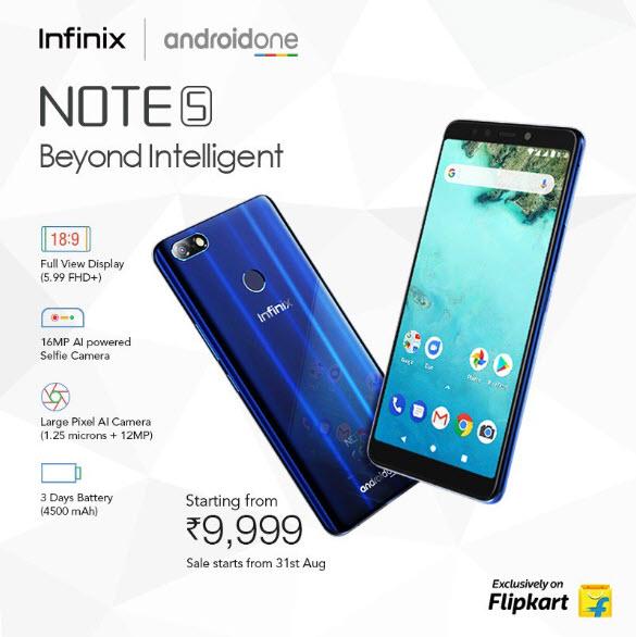 Infinx Note 5